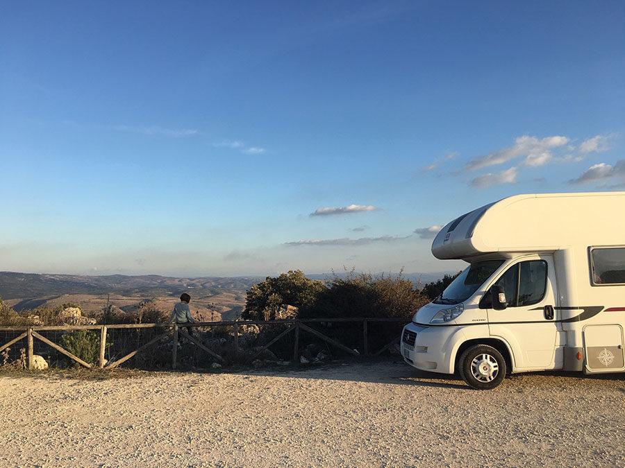 In camper per i boschi della Sardegna